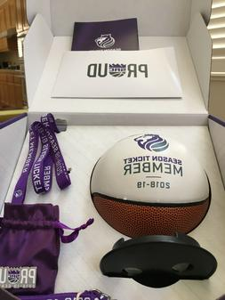 2018-19 SACRAMENTO KINGS Season Ticket Package - Mini Basket