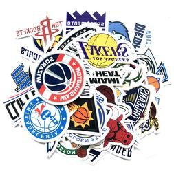30 NBA Team Logo Waterproof Vinyl Laptop Luggage Bike Book D