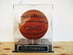 Basketball Display Case For Your Sacramento Kings Team Signe