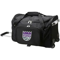 "DENCO SACRAMENTO KINGS 22"" 2-WHEELED CARRY-ON DUFFEL"