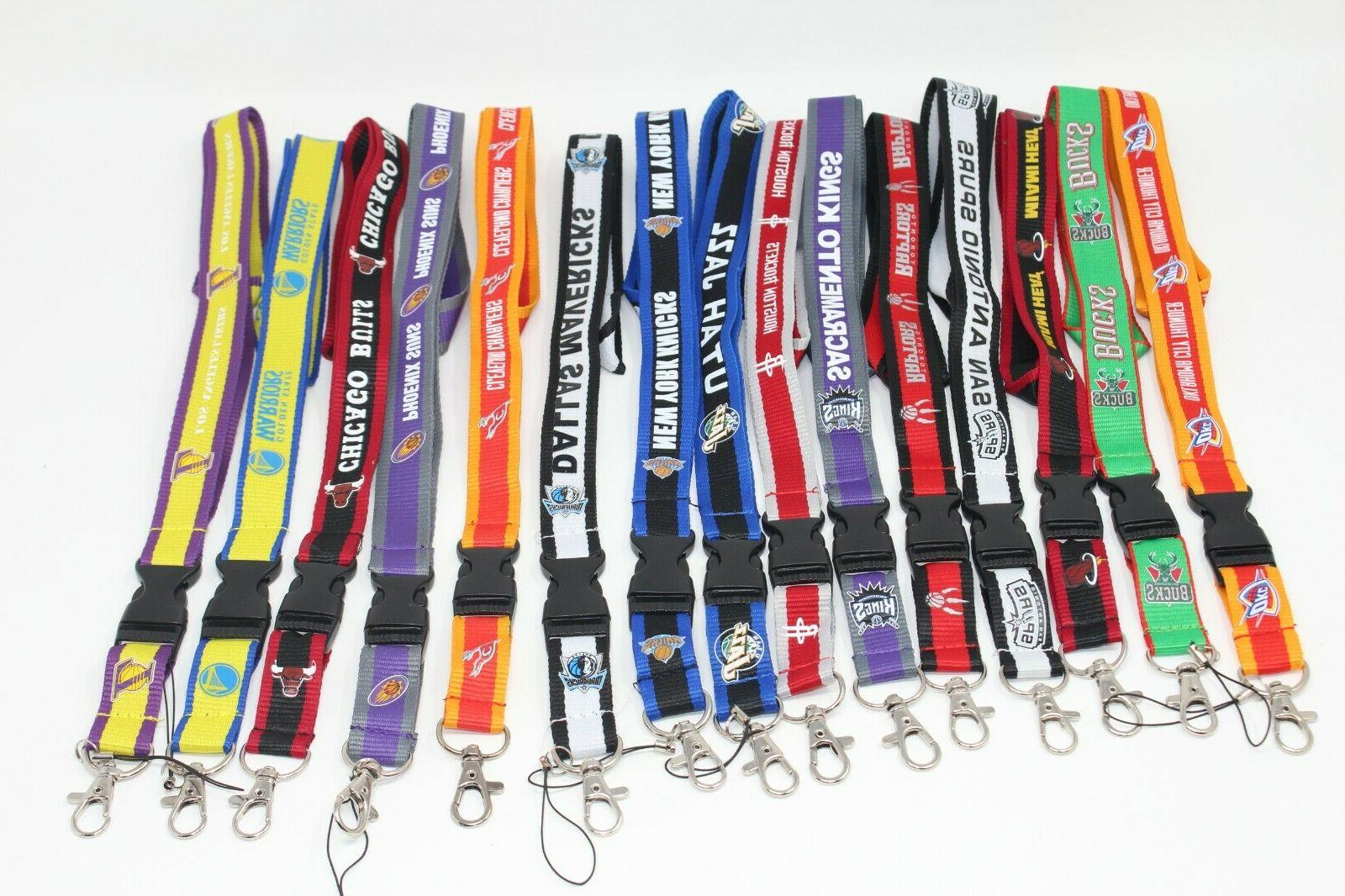 basketball lanyards multiple color options