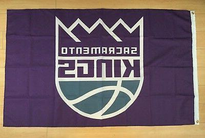 sacramento kings 3x5 ft flag nba