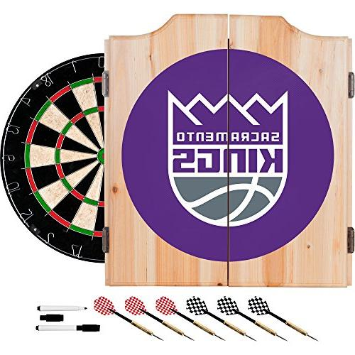 sacramento kings nba wood dart