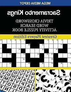 Sacramento Kings Trivia Crossword Word Search Activity Puzzl