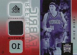 Mike Bibby 2005-06 Upper Deck Reflections Fabric Swatch Card