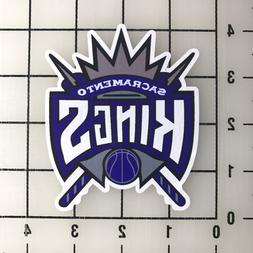 "Sacramento Kings NBA 4"" Tall Vinyl Decal Sticker - BOGO"