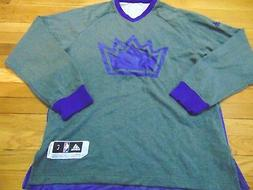 ADIDAS NBA AUTHENTIC SACRAMENTO KINGS CHRISTMAS SHOOTING LON