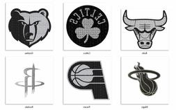 NBA Bling Emblem Adhesive Decal Team Logo By ProMark -Select