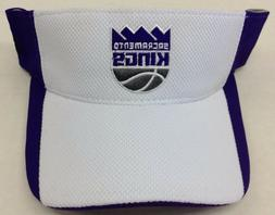 NBA Sacramento Kings Adidas Adjustable Fit Sun Visor Style #