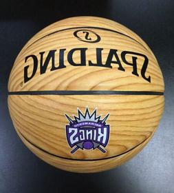 Spalding NBA Sacramento Kings Basketball Hardwood Leather Re