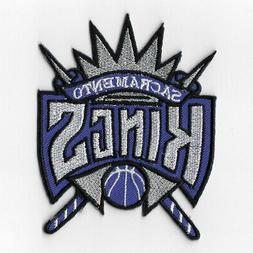 NBA Sacramento Kings Iron on Patches Embroidered Badge Patch
