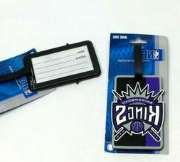 NBA Sacramento Kings Luggage Tag Travel Bag ID Golf Tag FREE