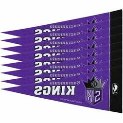 NBA Sacramento Kings Mini Pennant, 8-pc Single Team Set