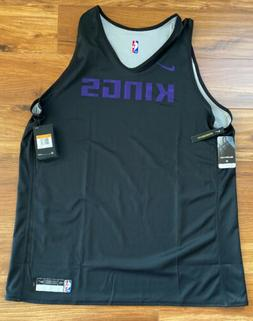 Nike NBA Sacramento Kings Player Issue Training Practice Jer