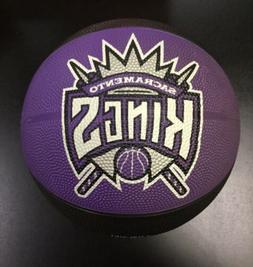NBA Sacramento Kings Team Logo Basketball Retro Outdoor Ball