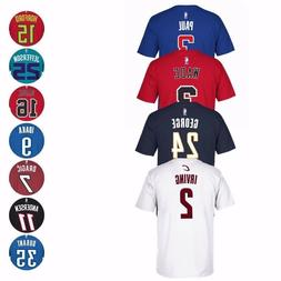 NBA Team Player Name & Number Jersey T-Shirt Collection by A