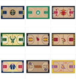 "NBA Teams Court Runner Mat Area Rugs Multiple 24"" x 44"" Fanm"