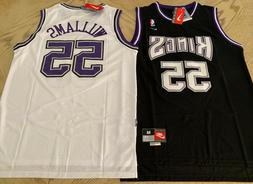 New Jason Williams Throwback Swingman Jersey #55 Sacramento