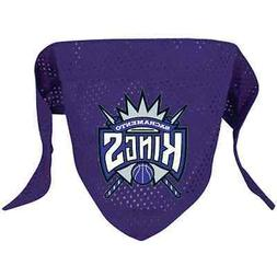 NEW SACRAMENTO KINGS PET DOG MESH BASKETBALL JERSEY BANDANA