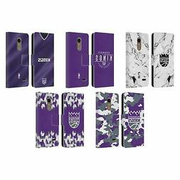 OFFICIAL NBA 2018/19 SACRAMENTO KINGS LEATHER BOOK WALLET CA