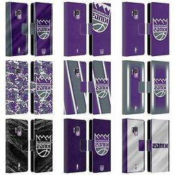 OFFICIAL NBA SACRAMENTO KINGS LEATHER BOOK CASE FOR SAMSUNG