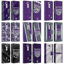 OFFICIAL NBA SACRAMENTO KINGS LEATHER BOOK WALLET CASE COVER