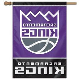 SACRAMENTO KINGS ~  Official NBA 28x40 Outdoor House Flag Ba
