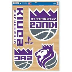 "WinCraft Sacramento Kings 11"" x 17"" Multi-Use Decal Sheet"
