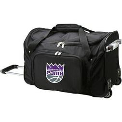 "Sacramento Kings 22"" 2-Wheeled Duffel Bag - Black"