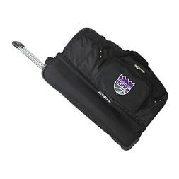 "Sacramento Kings 27"" 2-Wheel Rolling Drop Bottom Duffel Bag"
