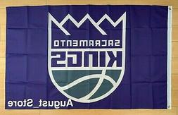 Sacramento Kings 3x5 ft Flag Banner NBA