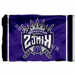 Sacramento Kings Column Flag 3x5 Polyester Sacramento Kings