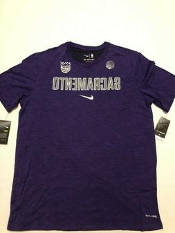 Nike  Sacramento Kings Men's Purple Essential Facility Shirt