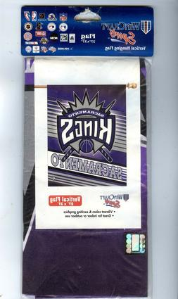 Sacramento Kings NBA Basketball Vertical Banner Flag by Winc