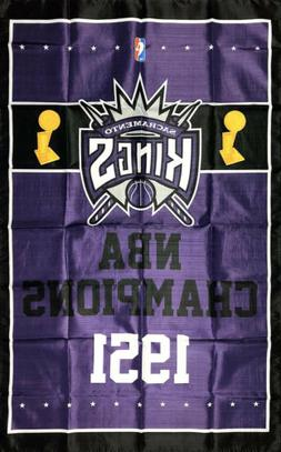 Sacramento Kings NBA Championship Flag 3x5 ft Sports Purple