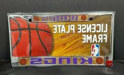Sacramento Kings NBA License Plate Frame Basketball