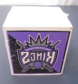 sacramento kings paper note cube approximately 1