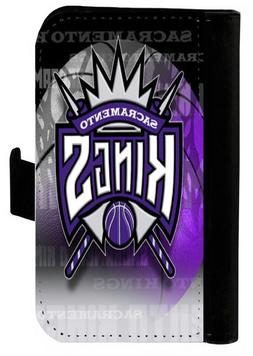 SACRAMENTO KINGS SAMSUNG GALAXY & iPHONE CELL PHONE CASE LEA