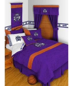 Sacramento Kings Twin Bedroom Comforter - NBA Sports Basketb