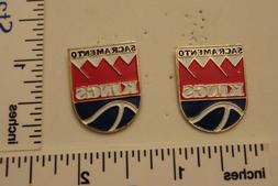TWO Old 1989 Limited Edition NBA Basketball Pins - Sacrament