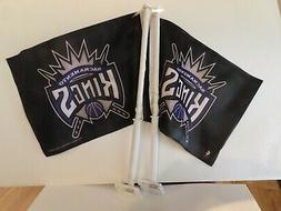 Two Rico Industries NBA Sacramento Kings 11 By 15 2 Sided Ca